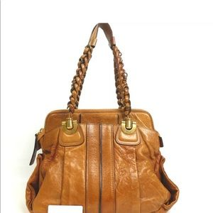Chloe Eloise Shoulder Bag brown leather